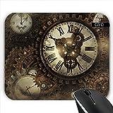 Mousepad - Weinlese Steampunk Uhren by Gatterwe