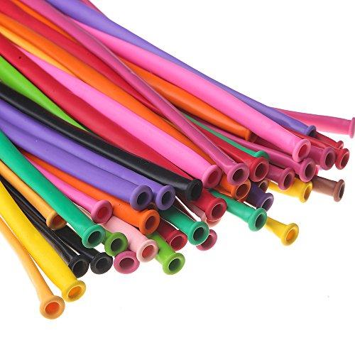 Beyond Dreams 100 Globos de Colores | Globos Flexibles para la decoración artística de Fiestas de cumpleaños, Bodas y Aniversarios | Globos Flexibles para la práctica Profesional de la globoflexia