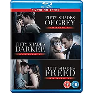 Fifty Shades Trilogy: Fifty Shades of Grey + Fifty Shades Darker + Fifty Shades Freed (3-Disc)