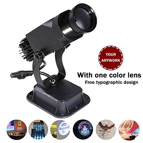 AMAZOIN GOBO luz LED 30 vatios GOBO Vidrio Personalizado