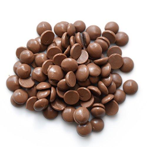 Sweet Wishes 900g belgische Schoko Fondue Vollmilch-Schokolade für Schoko-Brunnen und Fondue Sets im praktischen Portionsbeutel 10x90g einzeln verpackt