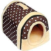 SOWLFE ANPI 2 en 1 casa de Mascotas y sofá, Cama Antideslizante para Perro o