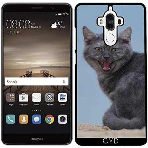 Coque pour Huawei Mate 9 - Dangereux Chat Animal Animaux