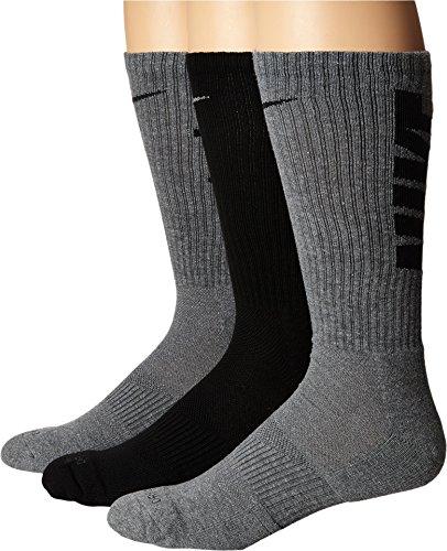 Nike 3PPK DRI-FIT Fly V4 Crew (S,M) - Pack 3 pares de calcetines para hombre, color rojo, talla M