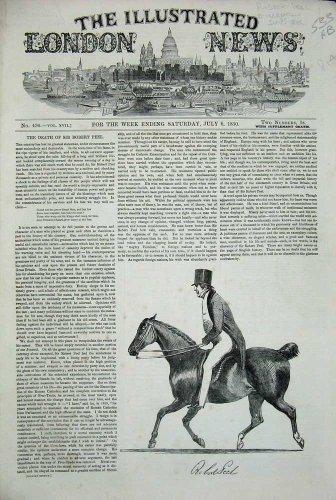 Camera 1850 di Whitehall Lancashire del Cavallo di Sir Robert Peel