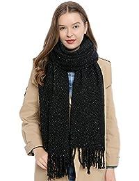c0dbf4859d4e DonDon Grande écharpe d hiver douce pour femme Oversize XXL 190 x ...