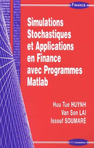 Simulation Stochastiques et Applications...