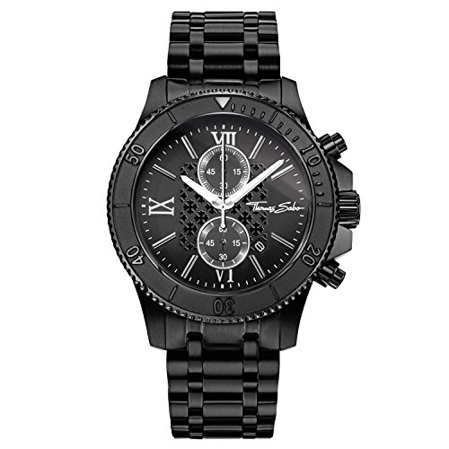 Thomas Sabo Men's Watch WA0198-202-203-44mm