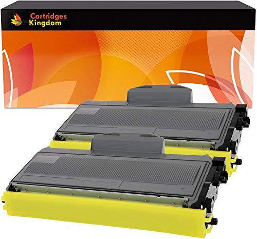 2 Toner Compatibili Nero per Brother TN2110 TN2120 DCP-7030, DCP-7040, DCP-7045N, HL-2140, HL-2150, HL-2150N, HL-2170, HL-2170W, MFC-7320, MFC-7340, MFC-7345DN, MFC-7440N, MFC-7840W