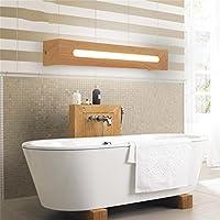 YANZHEN Badezimmer Wandleuchte  LED Massivholz Spiegel Frontseiten Lichter Spiegel