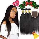 Best Grade Of Human Hair Weave - Brazilian Virgin Human Hair Straight 3 Bundles Review