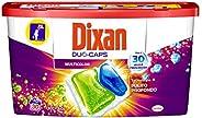 Dixan Duo Caps Colorati Detersivo Lavatrice, 30 Lavaggi