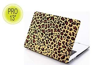 Coque Macbook Pro 13 pouces Jungle fever Léopard