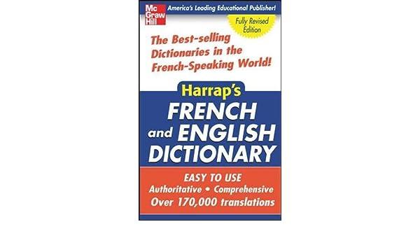 Buy Harrap's French and English Dictionary (Harrap's