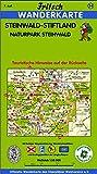 Fritsch Karten, Nr - 54, Steinwald-Stiftland (Fritsch Wanderkarten 1:50000) -