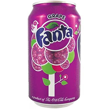 Fanta Grape 12 oz 355ml 12 Cans