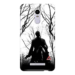 a AND b Designer Printed Mobile Back Cover / Back Case For Xiaomi Redmi Note 3 (RMI_N3_3D_3553)