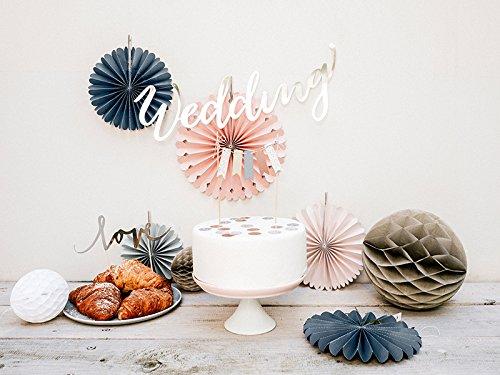 Pastell Rosetten Set | 5 Stück