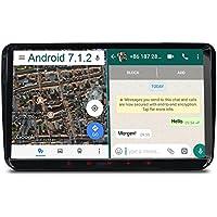 "A-Sure 9"" Android 7.1.2 Autoradio GPS Mirrorlink 1024*600 Wifi Bluetooth 4G 16ROM 2G RAM OBD DAB für VW GOLF TOURAN PASSAT TIGUAN T5 EOS Sharan Polo SKODA Yeti Octavia Fabia SEAT Altea SC9W7J"