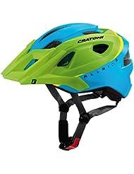 Casco MTB Cratoni All Ride verde-blu