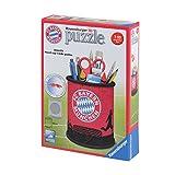 FC Bayern München 3D Puzzle Utensilo Stiftebox + gratis Sticker München Forever