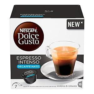 Nescafé Dolce Gusto Espresso Intense Decaffeinated Nespresso Coffee 16 Capsules