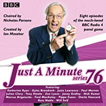 Just a Minute: Series 76: The BBC Radio 4 comedy panel game