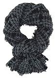 Ella Jonte Damenschal schwarz grau by Winterschal Herbst Winter weicher Schal