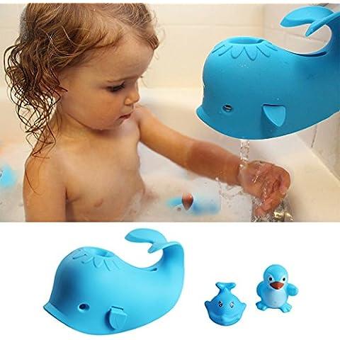 Vasca da Bagno Copertura Rubinetto Bambino D'angolo Copertura Toccare Caso L'acqua Bambini Protezione di Sicurezza balena elefante