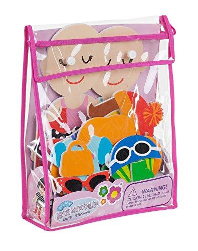 Meadow Kids MEA-MK030 - Dressing Up, juego de recortables adhesivos para el baño