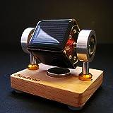 HandsMagic Mendocino Solar Motor Wolkige Arbeit Wissenschaft Physik Spielzeug Lernspielzeug