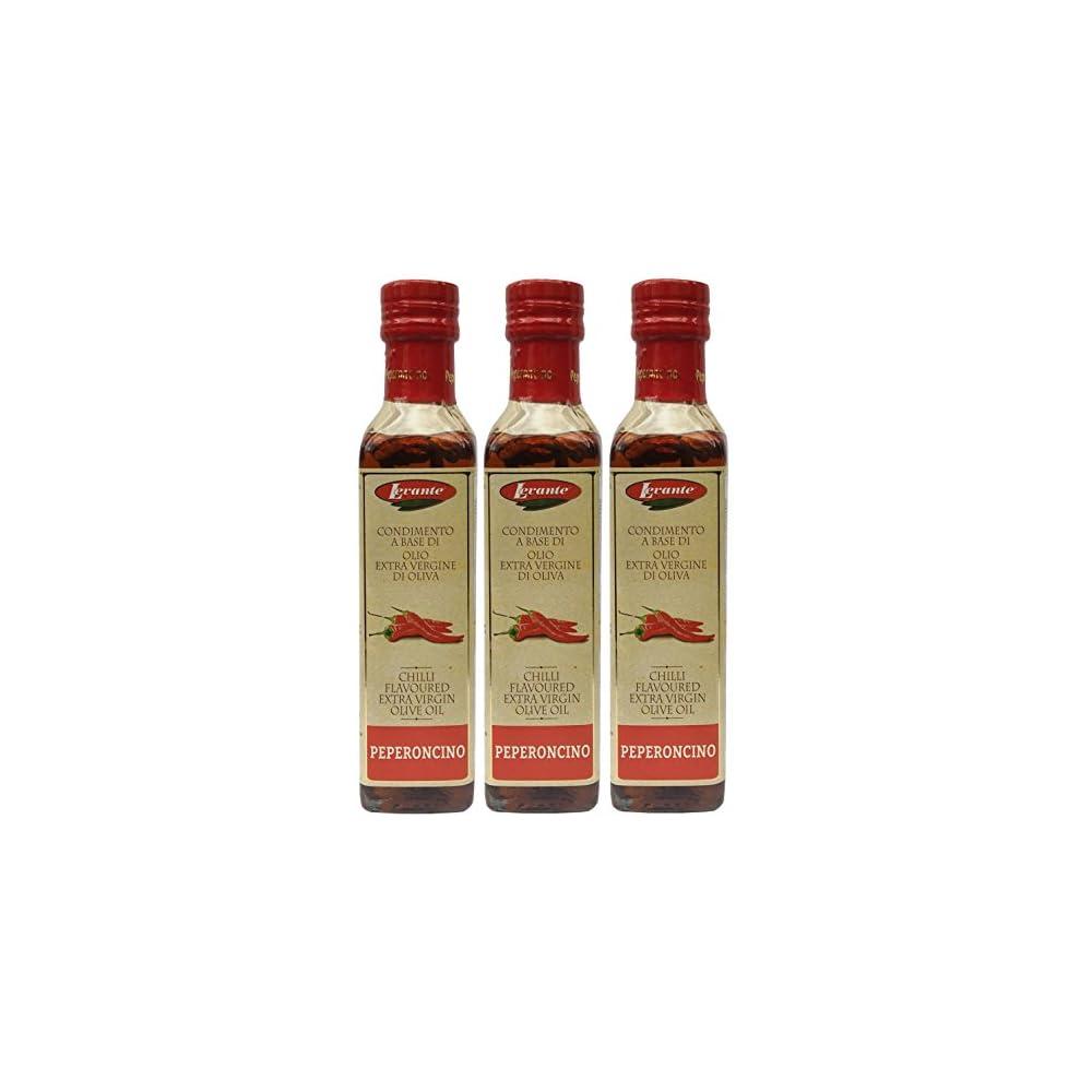 Chilil Levante 3 X 250ml Aromatisiertes Olivenl Mit Chili