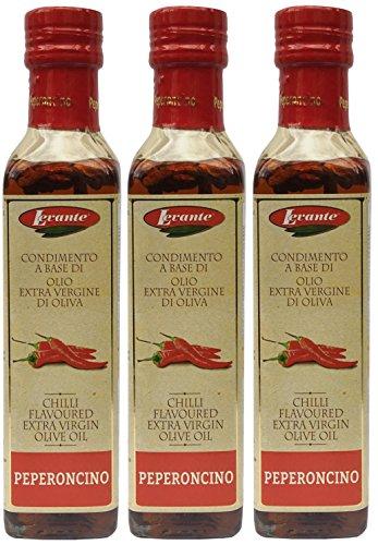 Chiliöl Levante (3 x 250ml) - Aromatisiertes Olivenöl mit Chili