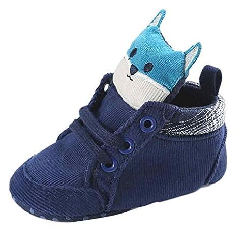 Hunpta Baby Mädchen Jungen Fuchs Hight Cut Schuhe Sneaker rutschfest