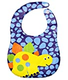 Bey Bee - Waterproof Baby Bib (Blue)