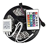 #3: 5050 LED STRIP RGB MULTICOLORED WITH REMOTE AND ADAPTER