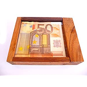 LOGICA GIOCHI Art. Caja Fuerte con Truco M – La Caja Secreta – Dificultad 5/6 Increíble – Rompecabezas de Madera…