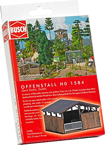 Busch 1584 Open Stable HO - Báscula