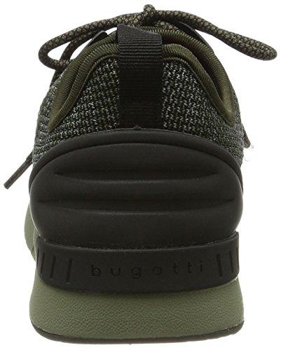 Bugatti Uomini 342305056900 Sneaker Verde (verde)