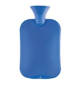 Fashy Single Ribbed Hot Water Bottle 2.0L