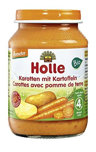 Holle Bio Karotten mit Kartoffeln (1 x 190 gr)