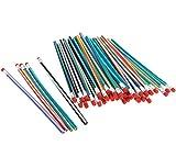 Best Pencil Sharpeners For Classrooms - 50pcs 18CM Soft Flexible Bendy Pencils Children Kids Review