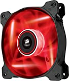 Corsair SP120 LED Ventilateur de Boitier, 120mm, Rouge LED (Single Pack)