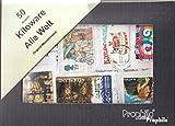 Prophila Collection Alle Welt 50 Gramm Kiloware Mission (Briefmarken für Sammler)