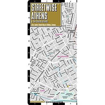 Plan StreetWise Athènes