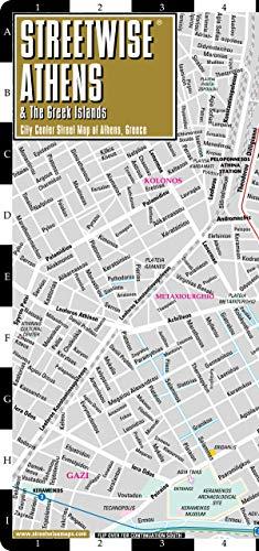 Plan StreetWise Athènes par Michelin
