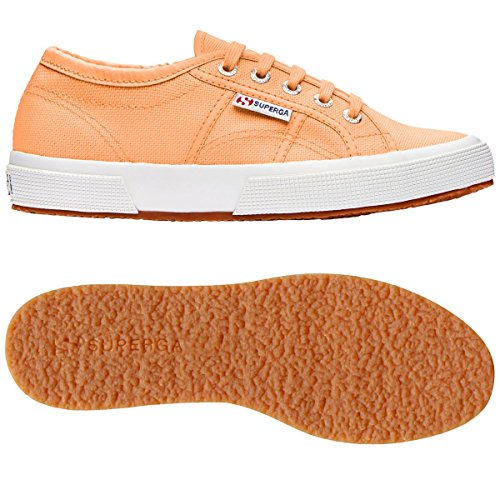 Schuhe Superga Sneakers Herren Damen Unisex 2750-plus Cotu Frühling Sommer Herbst Winter ORANGE CLAY