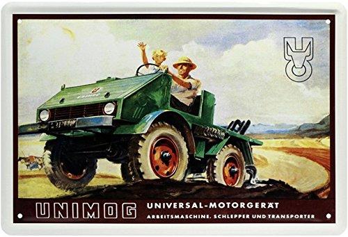Hanomag Universal - Motorgerät Schlepper Blechschild 20x30 Retro Blech 359