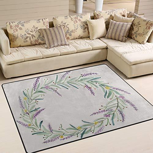 arell-Garland-Teppich Anti-Rutsch-Pad Fußmatte Fußmatte Fußmatte Schuhe Schaber, Polyester, 1, 80 x 58 inch ()