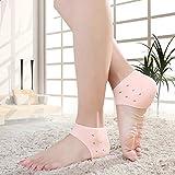 Kanantraders Silicone Gel Swelling Pain Relief Hard Cracked Heels Repair Dry Cream Foot